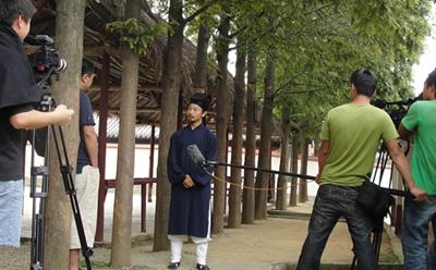 陈师行道长参与国家形象宣传片拍摄