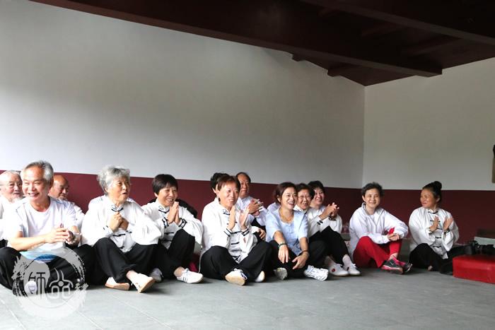 上海老学员12年后拜访陈师行道长