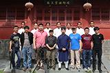 中央电视台《传承》栏目组来师行武馆拍摄