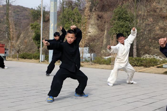师行功夫馆传统武术班