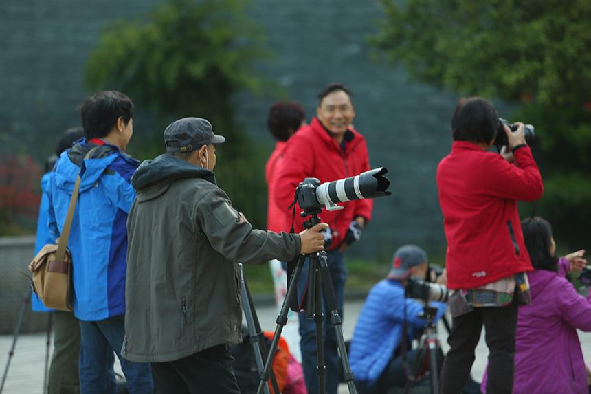 广东摄影家协会参访师行太极道院