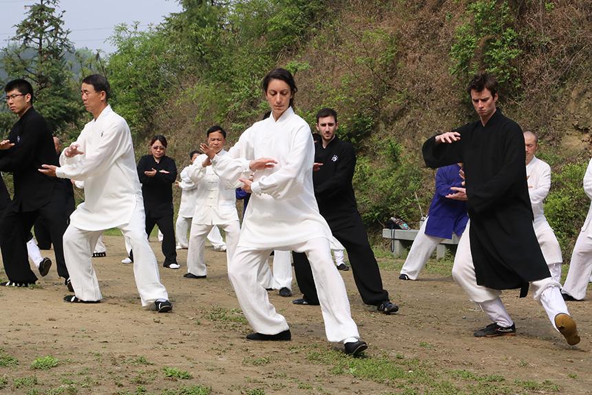 太极拳有益于人体微循环