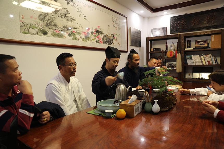 珠海师清太极馆来院参访学习