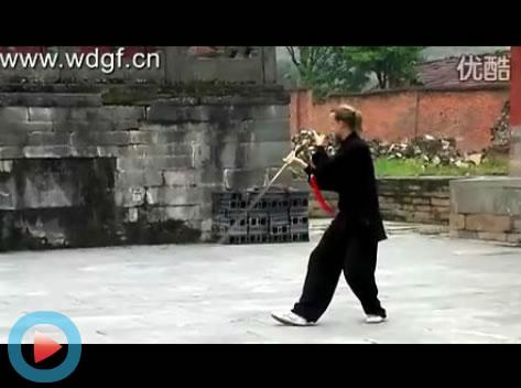 武当太极剑――美国学员Peter